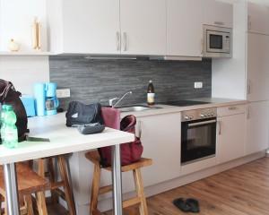 Küchenzeile in der Ferienwohnung